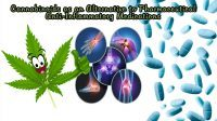 Cannabinoid alternative to pharmaceutical NSAIDs CBD Anti-inflammatory NSAID use Rising